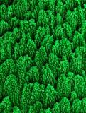 Nano-estructuras del níquel Foto de archivo libre de regalías