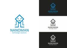 Nano Mens Royalty-vrije Stock Fotografie