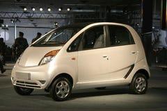 ?Nano? na auto expo em Deli, Foto de Stock Royalty Free