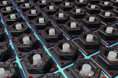 Nano - the symmetry. Nanotechnology - the future and hope Royalty Free Stock Photo