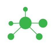 Nano Technology Icon Design. EPS 8 supported stock illustration