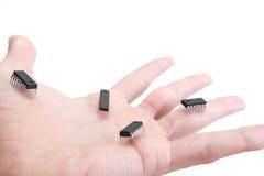 nano teknologi för handtag Royaltyfri Foto