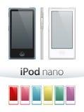Nano Vector van Ipod Stock Foto's