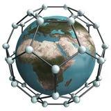 Nano wereld Royalty-vrije Illustratie