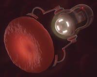 nanobot στοκ φωτογραφία με δικαίωμα ελεύθερης χρήσης