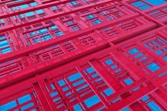 Nanostructures Fotografia Stock
