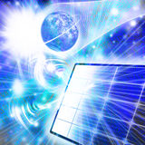 nanotechnologia obrazy royalty free
