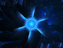 Nanotechnology in future concept Royalty Free Stock Photo