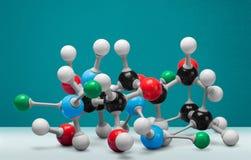 Nanotechnology. Molecule healthcare and medicine molecular structure innovation dna atom stock photo
