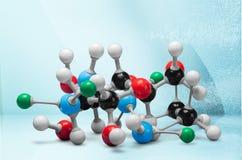 Nanotechnology. Molecule healthcare and medicine molecular structure innovation dna atom stock photos