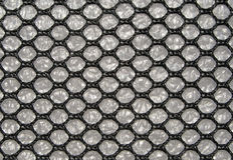 Nanotechnology texture. A macro shot of a nanotechnology textile Royalty Free Stock Photography