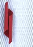 Nanotechnology tube background. Nanotechnology red tube background. 3d rendering Stock Image