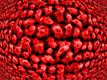 Nanotips op nikkel Royalty-vrije Stock Fotografie