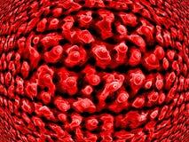 Nanotips sur le nickel Photographie stock libre de droits