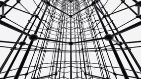 Nanotube结构 皇族释放例证