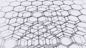 Nanotube structure stock footage