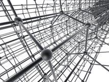 Nanotube structure Royalty Free Stock Photo
