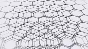 Nanotube struktura royalty ilustracja