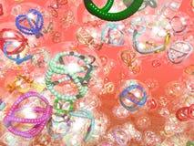 Nanotubes en Nanoworms royalty-vrije illustratie