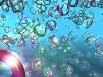 Nanotubes Up Close Royalty Free Stock Photos