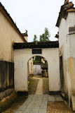 Nanping-Dorf, eine berühmte Huizhou-Art alte Architektur in China lizenzfreies stockbild