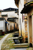 Nanping-Dorf, eine berühmte Huizhou-Art alte Architektur in China stockfotografie