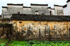Nanping Village , a famous Huizhou type ancient architecture in China. Nanping Village , a famous Huizhou type ancient architecture , Located in Yixian county royalty free stock image