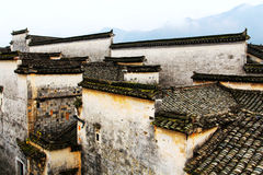 Nanping Village , a famous Huizhou type ancient architecture in China. Nanping Village , a famous Huizhou type ancient architecture , Located in Yixian county stock images