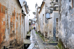 Nanping wioski nakreślenie Zdjęcie Royalty Free