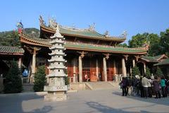 Nanputuo świątynia w Xiamen porcelanie Obrazy Stock