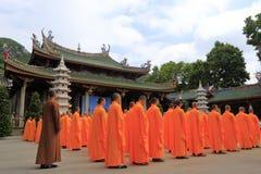 nanputuosi寺庙福利救济活动 库存图片