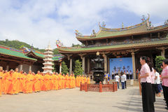 Nanputuosi temple welfare activities Royalty Free Stock Photo