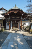 Nansenji temple at Yanaka, Tokyo . Stock Photo