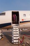 Nanshan Boeing BBJ stråle Royaltyfria Bilder