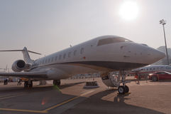 Nanshan Boeing BBJ strumień Obraz Royalty Free