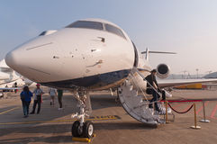 Nanshan Boeing BBJ strumień Fotografia Royalty Free