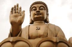 Nanshan Buddha Statue Royalty Free Stock Photography
