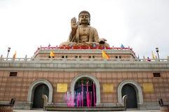 Nanshan Buddhastaty Royaltyfria Foton