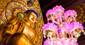 Nanshan. Buddhist temple Nanshan in Hainan province, China Royalty Free Stock Photography