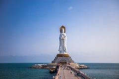 Nanshan. Buddhist temple Nanshan in Hainan province, China Royalty Free Stock Photos