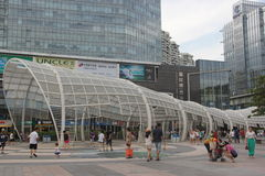 The Nanshan district center square in SHENZHEN CHINA ASIA Royalty Free Stock Photography