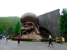Nanshan longevity old man statue Stock Photography
