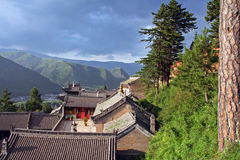 Nanshan Temple, Wutaishan, China Stock Image