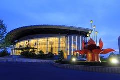 Nanshan theatre at night, china Royalty Free Stock Photos