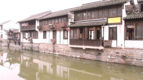 Nanshanstad in China stock videobeelden