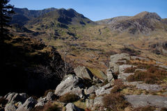 Nant Ffrancon Stock Photo