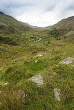 Nant Ffrancon Pass, from Ogwen Cottage Royalty Free Stock Photos