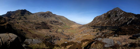 Nant Francon Royalty Free Stock Images
