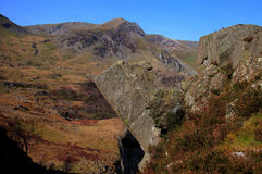 Nant Francon rocks Stock Photos