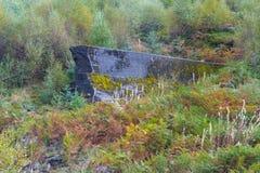 Nant-y-Groverdammung, explodiert während des Krieges für die Prüfung von dambusters BO Stockbild